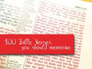 100-Bible-Verses