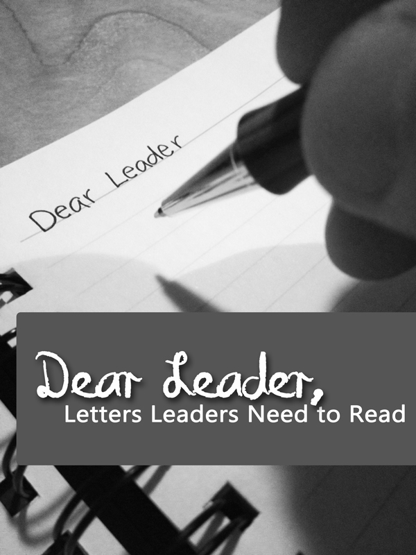 Dear Discouraged Leader