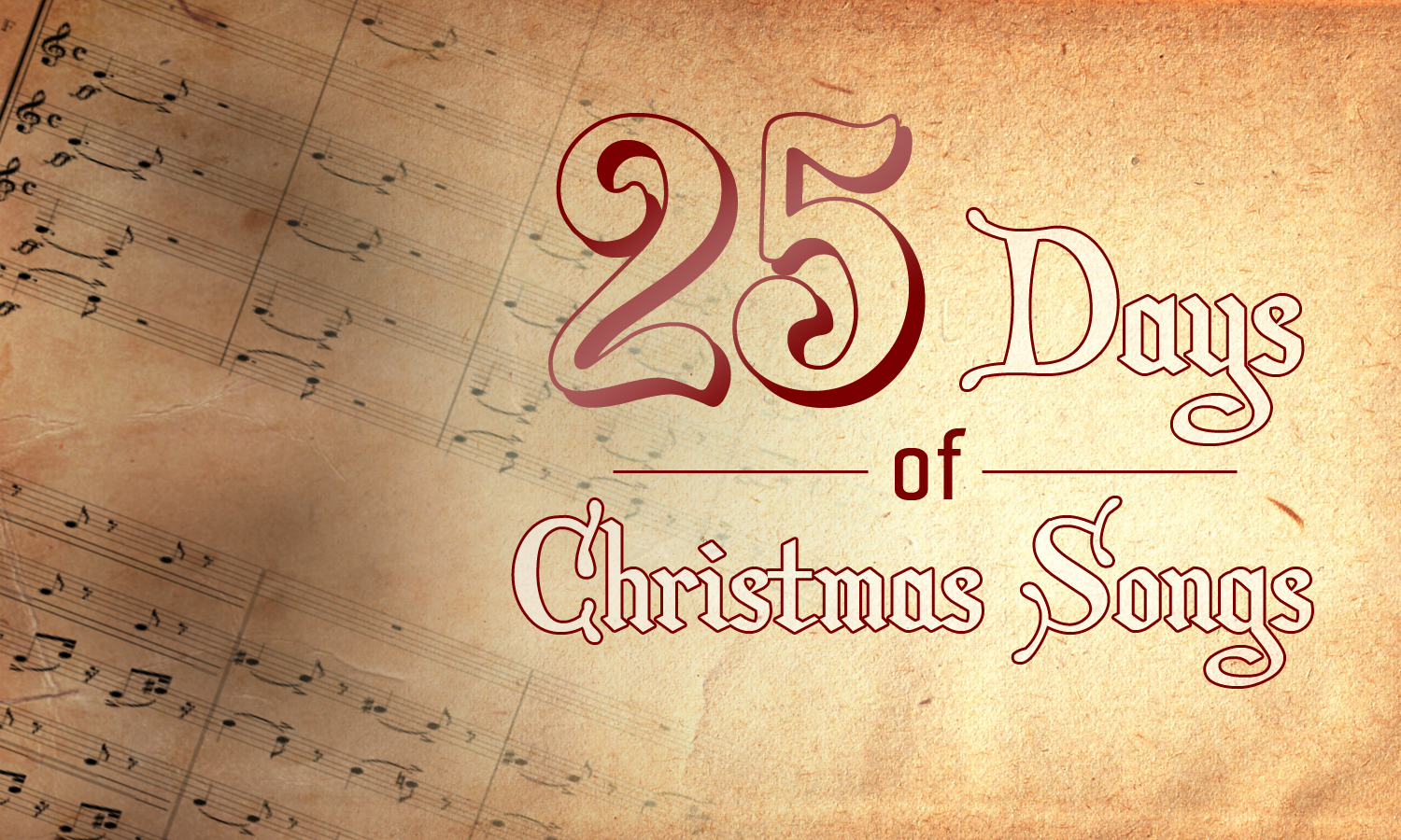 25 Days of Christmas Songs – Day 1