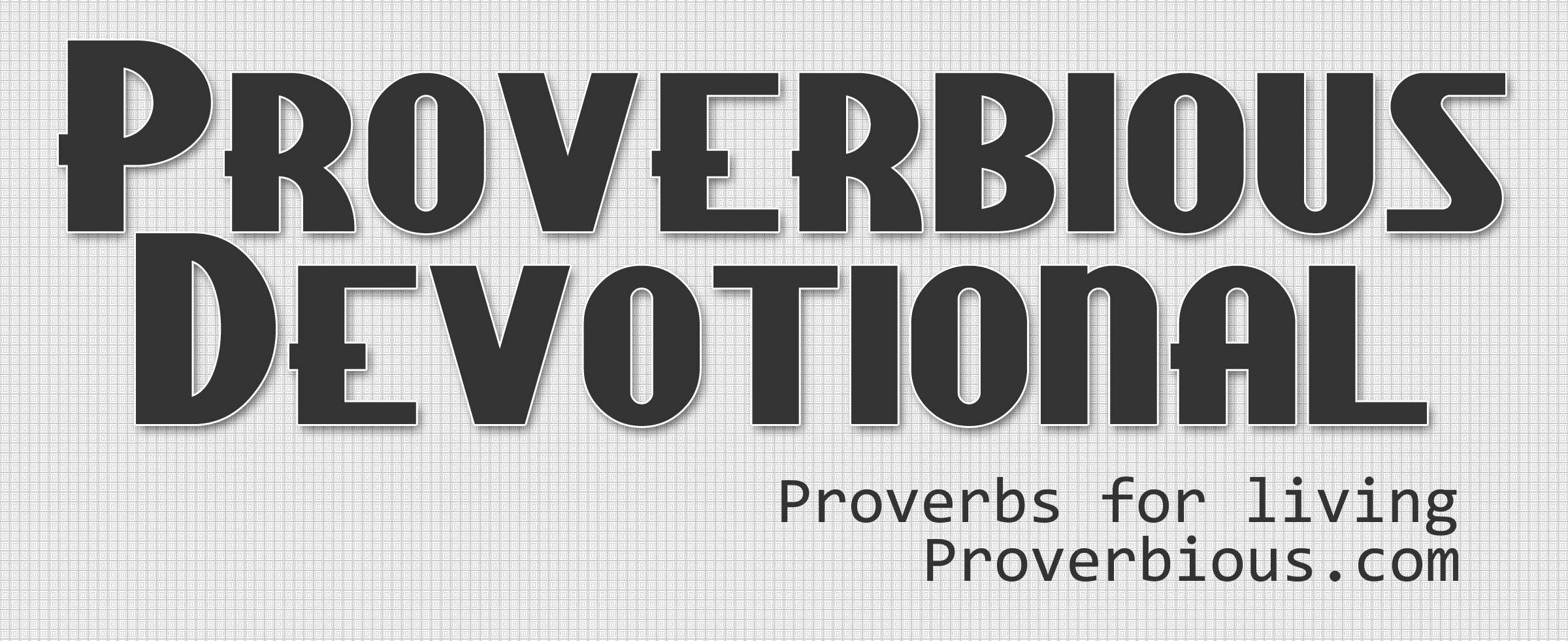 Proverbious – Day 15 – Proverbs 3:16-18 – Tree Hugger