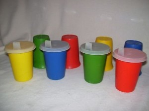Tupperware Sippy Cups