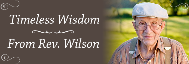 If God Will Give You One More Year – Rev. Ermal Wilson