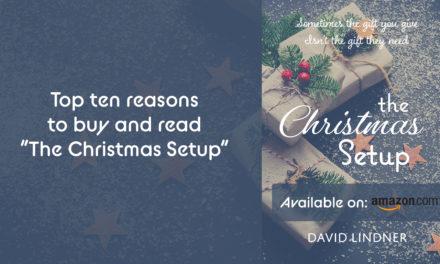 """Top 10 reasons to buy & read """"The Christmas Setup."""""""